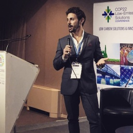 Youth Solutions session at LESC22 (Low-Emissions Solutions Conference) - Marrakech, November 2016