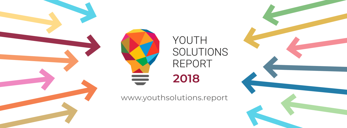 Launch of the 2018 Youth SolutionsReport