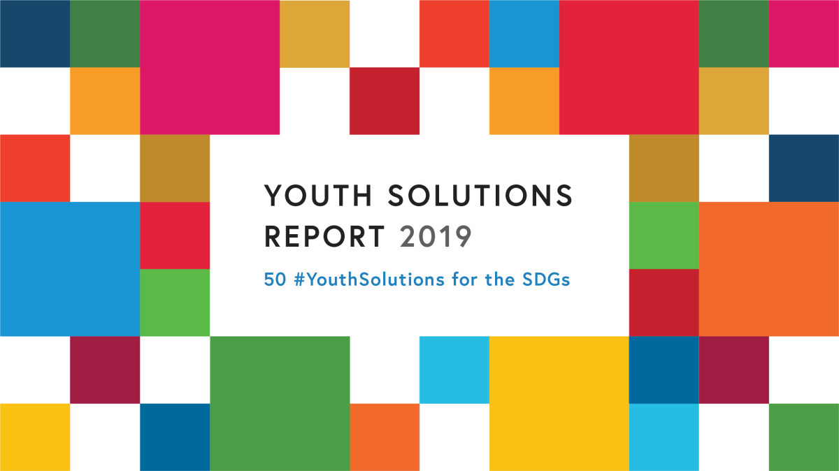 Editor of the 2019 Youth Solutions Report